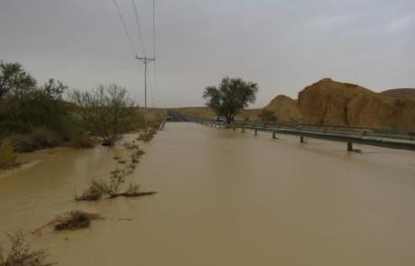 ניטור גשם וזרימות בערבה ובנגב הדרומי – דוח מדעי לחורף 2018-2019