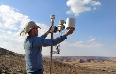 מחקר הידרו-אקולוגי באגן נחל גוונים – השפעת משטר הגשמים והזרימה השיטפונית על מגוון הצומח